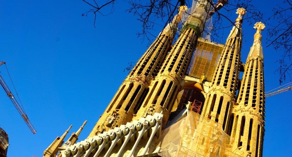 Espagne, Barcelone, Sagrada Familia