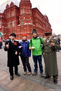 Russie, Moscou, sosies