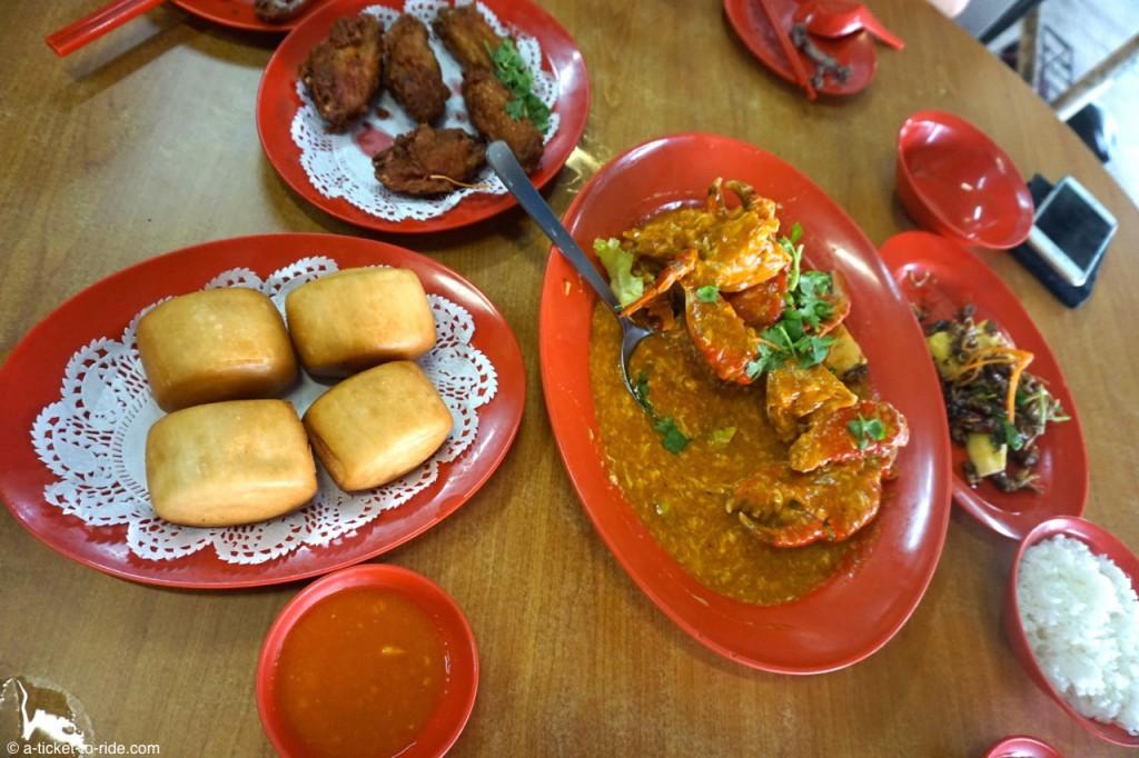 Singapour, Chili crab