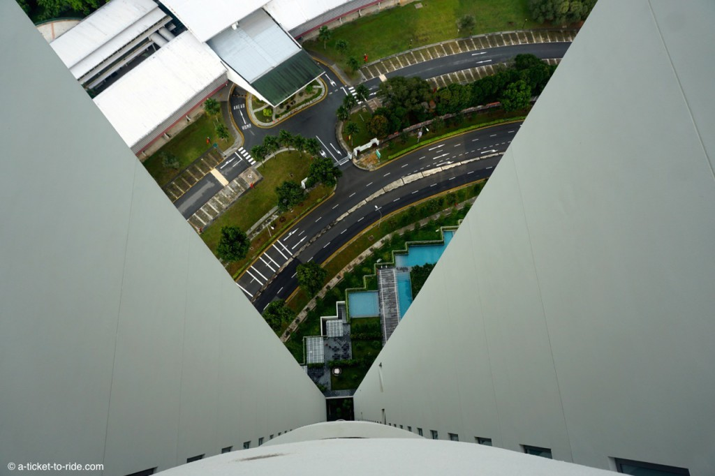 Singapour, on the top of the building