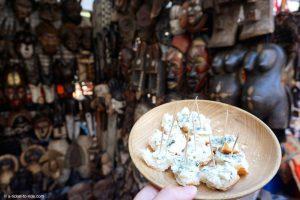 Afrique du Sud, Le Cap, dégustation roquefort